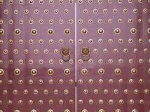 Puerta del estilo chino Imágenes de archivo libres de regalías