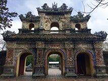 Puerta del estilo chino Imagen de archivo