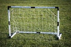 Puerta del fútbol Fotografía de archivo libre de regalías