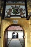Puerta del fuerte Foto de archivo