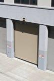 Puerta del garage Imagenes de archivo