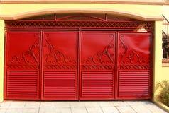 Puerta del garaje Fotos de archivo