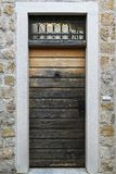 Puerta del Grunge Imagen de archivo