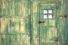 Puerta del Grunge foto de archivo
