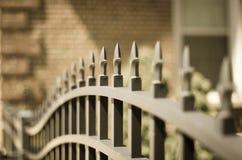 Puerta del hierro fotografía de archivo libre de regalías