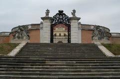 Puerta del hierro Foto de archivo