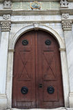 Puerta del hierro de la menta Topkapi imagen de archivo