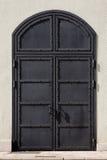 Puerta del hierro de la prisión Foto de archivo