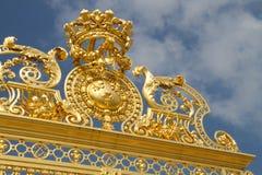 Puerta del honor - palacio de Versalles Fotos de archivo libres de regalías