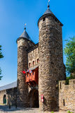 Puerta del infierno en Maastricht, Países Bajos Imagen de archivo