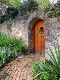Puerta del jardín Fotos de archivo