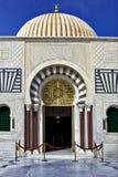 Puerta del mausoleo del oro de bourguiba Foto de archivo libre de regalías