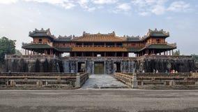 Puerta del mediodía, entrada a la ciudad imperial, tonalidad imagenes de archivo