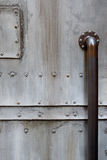 Puerta del metal Foto de archivo