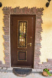 Puerta del metal imagen de archivo