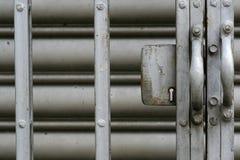 Puerta del metal fotos de archivo libres de regalías