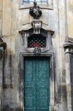 Puerta del metal fotos de archivo