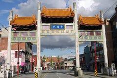 Puerta del milenio Foto de archivo