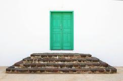 Puerta del monasterio Imagen de archivo