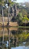 Puerta del norte - Angkor Wat Imágenes de archivo libres de regalías