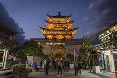 Puerta del norte, Dali Old Town, provincia de Yunnan, China fotos de archivo