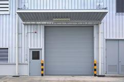 Puerta del obturador fotografía de archivo libre de regalías