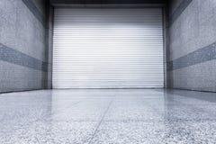 Puerta del obturador del rodillo, tipo auto interior, puerta de acero del obturador foto de archivo