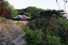 Puerta del oeste de Namhansanseong Fotografía de archivo libre de regalías