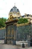 Puerta del palacio Fotografía de archivo libre de regalías