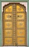 Puerta del palacio Imagen de archivo libre de regalías