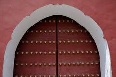 Puerta del palacio de los niños de Pekín, China Fotografía de archivo libre de regalías