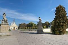 Puerta del palacio en Bialystok, Polonia de Branicki Foto de archivo