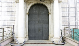 Puerta del Palazzo San Giorgio Royalty Free Stock Image