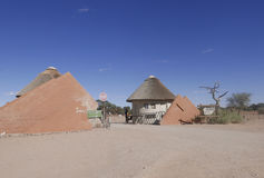 Puerta del parque nacional de Namib-Naukluft de Namibia Fotografía de archivo libre de regalías