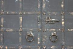 Puerta del perno jpg Imagen de archivo libre de regalías