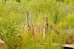 Puerta del prado Fotografía de archivo