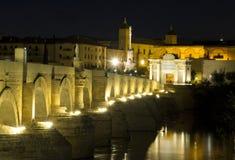 Puerta del Puente Cordoba, Андалусия Испания Стоковое Фото