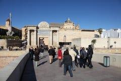 Puerta Del Puente, Cordoue Images libres de droits