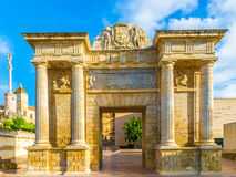 Puerta del Puente Gate in Cordoba Royalty Free Stock Photo