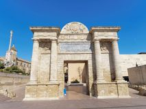 Puerta Del Puente - gate to the old town of Cordoba, Andalusia, Spain Stock Photos