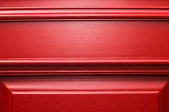 Puerta del rojo de la textura Foto de archivo libre de regalías