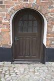 Puerta del sótano de Brown Fotos de archivo