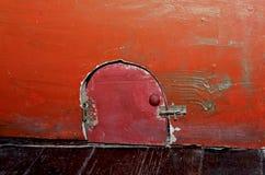Puerta del ` s del gato Imagen de archivo