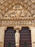Puerta del Sarmental, Burgos (Spanje) Royalty-vrije Stock Foto