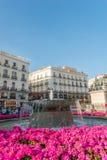 Puerta del Sol Μαδρίτη Στοκ Εικόνες