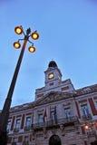 Puerta del Sol, Μαδρίτη, Ισπανία Στοκ φωτογραφίες με δικαίωμα ελεύθερης χρήσης