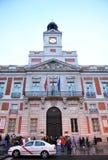Puerta del Sol, Μαδρίτη, Ισπανία Στοκ Φωτογραφίες