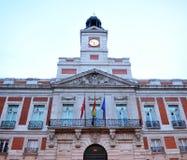 Puerta del Sol, Μαδρίτη, Ισπανία Στοκ εικόνα με δικαίωμα ελεύθερης χρήσης