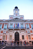 Puerta del Sol, Μαδρίτη, Ισπανία Στοκ φωτογραφία με δικαίωμα ελεύθερης χρήσης