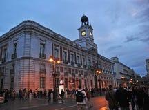 Puerta del Sol, Μαδρίτη, Ισπανία Στοκ Εικόνα